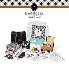 The Magnolia and Vine starter kit contains all the elements you need to start the business of your dreams. Join my team at www.mymagnoliaandvine.com/donnakay .