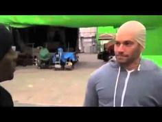 Paul Walker Pretends to be Vin Diesel on the Set of Fast & Furious FUNNY   it's diesel time