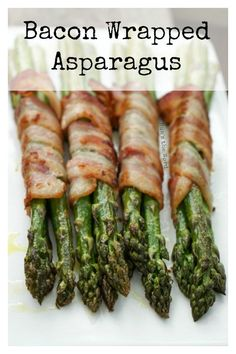 Bacon Wrapped Asparagus - Main image for recipe of grilled asparagus Bacon Wrapped Asparagus - Main Grilled Bacon Wrapped Asparagus, Grilled Asparagus Recipes, Grilled Veggies, Chef Recipes, Grilling Recipes, Vegan Recipes, Griddle Recipes, Grilling Ideas, Smoker Recipes