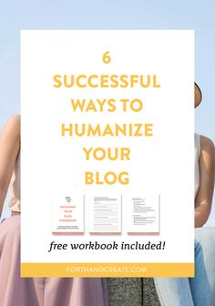 One of the most important things you can do for your blog is humanize it. The internet is wildly popular and because of this a good chunk of people who run their businesses online almost never talk face-to-face with their clients/readers. It is so important that you add your personality to your blog to have that special connection with your reader. #humanize #blog