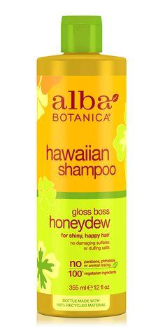 * hawaiian shampoo gloss boss honeydew | Alba Botanica