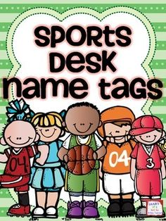 These 15 name tags are perfect for labeling student desks in a sports or team themed classroom!There are male and female athletes in a variety of primary colors. Sports included are:SoccerBaseballFootballBasketballCheerleadingThis product is part of my Sports Theme Classroom 2 bundle!