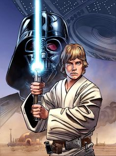 Star Wars: The Rise Of A Hero cover. Disney/Lucasfilm Press, Layouts by Walt Simonson. Finishes by Tom Palmer. Colors by Laura Martin. Star Wars Film, Star Wars Fan Art, Star Wars Jedi, Star Wars Poster, Star Wars Personajes, Star Wars Luke Skywalker, Star Wars Comics, Star Wars Pictures, Star Wars Wallpaper