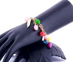 #Multicolor Charms #Bracelet