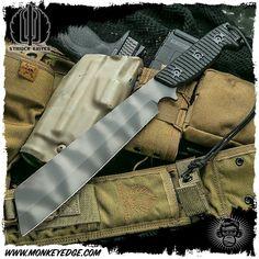 Strider Knives Fixed: RW3 Black G10