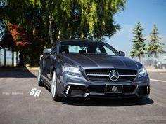 2012 SR Auto Mercedes Benz CLS63 AMG Project Maximus Front