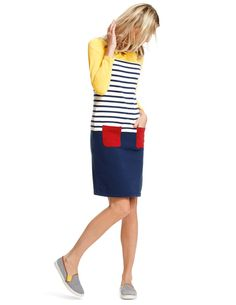Hotchpotch Jersey Dress. This is so stinking cute! I wonder if I could pull it off.