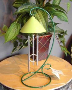 Add some Feng Shui to any room and inspire your senses with this Brite Sprite table top indoor solar chime. Perfect for a college dorm room ! $44.99 (http://www.inspirationalgiftstore.com/inspire-your-senses-brite-sprite-solar-chime-indoor-table-top-chimes/)