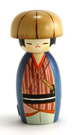 Sheep Usaburo small Special Section Japanese Creation Kokeshi Doll Yurakoro