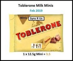 Toblerone, Slimming World, Meal Planning, How To Plan, Chocolate, Mini, Food, Chocolates, Eten