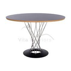 dining tables forward isamu noguchi cyclone dining table replica vita