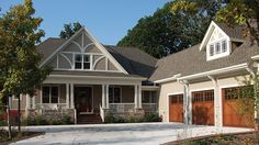 Home Plan HOMEPW10870 - 2325 Square Foot, 3 Bedroom 2 Bathroom Craftsman Home with 2 Garage Bays | Homeplans.com