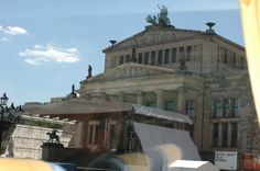"Gendarmenmarkt Square. The Schinkel Theatre. Berlin, Germany. Princess ""Star"" Ship."