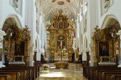Stadtpfarrkirche St. Mariä Himmelfahrt - Landsberg am Lech