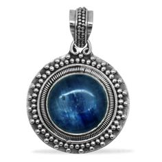 Liquidation Channel: Himalayan Kyanite Pendant in Sterling Silver (Nickel Free)