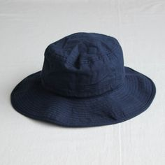 ORGANIC COTTON HAT #navy