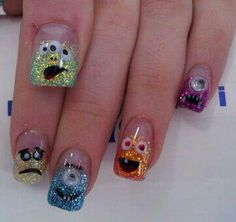 Monsters nails