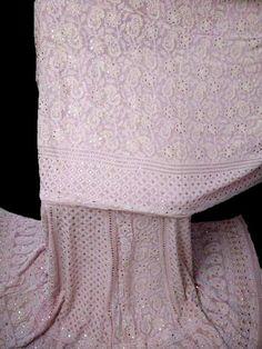 pink badla work chikankari lehenga in USA Bridal Lehenga, Indian Dresses, Indian Wear, Pakistani, Lace Shorts, Sarees, Pure Products, Usa, Pink