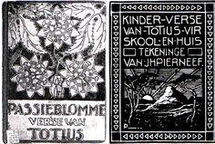 Pierneef, illustrations in Totius poem book