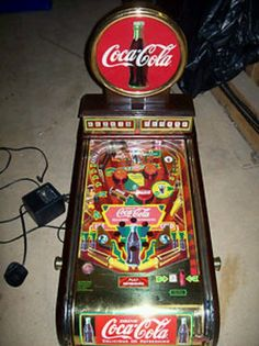 Coca Cola pinball machine...LC