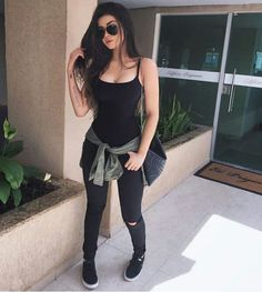 51 Warm Weather Street Style Looks That Make You Look Cool - Daily Fashion Outfits Fall Outfits, Summer Outfits, Casual Outfits, Cute Outfits, Girly Outfits, Comfortable Outfits, How To Have Style, My Style, Teen Fashion