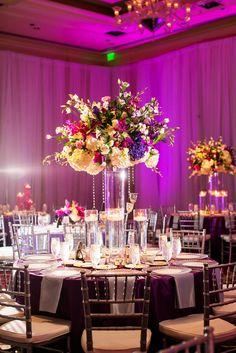 Ritz Carlton Dallas Wedding Fuchsia Purple Www Significanteventsoftexas