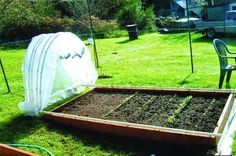 How To Make A Hoop House That Glides Open & Closed | Creative Ideas