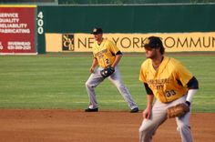 LI Ducks vs New Britain Bees, Bethpage Ballpark Central Islip NY This is New Britain's inaugural season and first time in NY. Central Islip, New Britain, Ducks, Bees, First Time, Graphic Design, Seasons, Photography, Photograph