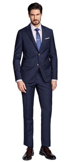 We amped up the suave factor of the Sharkskin navy suit, just for you. Blended with mohair, the Hamilton is a lustrous version of the iconic fabric. Believe us, you're going to need a bigger spotlight. #Indochino #IndochinoApparel #IndochinoWeddings