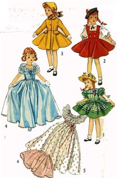 "ORIGINAL Doll Clothes Pattern 4098 for 21"" Sweet Sue by American Character"