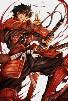 Anime Guys Does anyone know If there will ve another season of Drifters, or when? - More memes, funny videos and pics on Anime Guys, Manga Anime, Anime Love, Anime Art, Ronin Samurai, Samurai Anime, Manga Drawing, Manga Art, Anime Cosplay