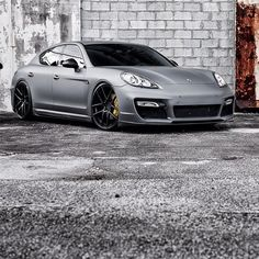 Powerful Porsche Panamera