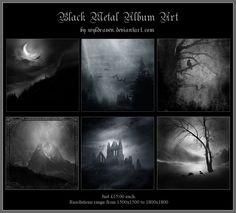 Black Metal Album Art 2 by wyldraven on DeviantArt