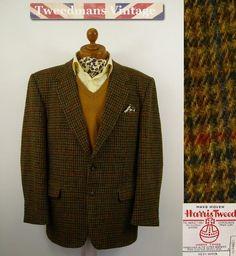 Mens Harris Tweed Jacket