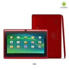 """MID Google Android 4.0 Dual Camera 1.2GHz 4GB 7"""" Tablet PC with Accessories - Assorted Colors $69.00"""