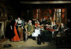 BBC - Your Paintings - Scene from William Shakespeare's 'The Merry Wives of Windsor'