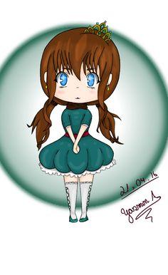 Pequena Princesa: Por Yasmin_Akiyama