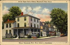At The Upper End Of Elkton, Maryland's Main Street