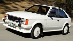 1984 Vauxhall Astra MkI GTE. And yes, you aren't seeing things. They painted the alloys white on this model