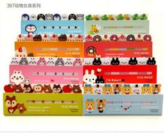 Funny Animal Girls 120 Pages Stick Post It Bookmark Mark Memo Tab Sticky Notes