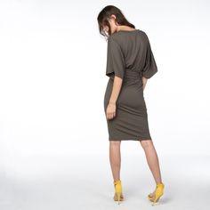 kate kaki hemel dress -6