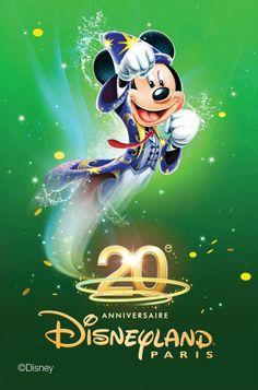 Mickey - Disneyland 20ans