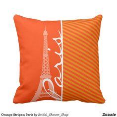Orange Stripes; Paris