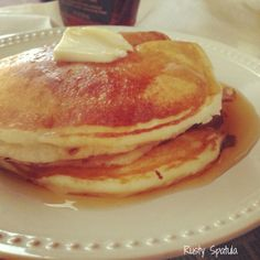 Saturday Buttermilk Pancakes