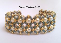 Tutorial for Cobblestones Bracelet