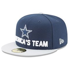 9690c634 Dallas Cowboys New Era 2017 Sideline Official 9FIFTY Snapback Cap | 2017 NFL  New Era Sideline Snapback Caps | Pinterest | Cowboys, Snapback hats and Nfl  ...