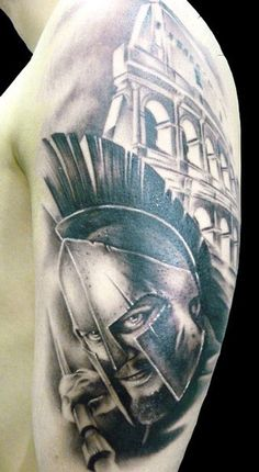 Tattoo Artist - Demon Tattoo - Warriors tattoo
