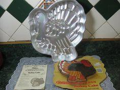Vintage Cake Pan Wilton Turkey Cake Pan by SallysVintageKitchen, $38.00