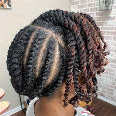 Flat Twist Styles, Hair Twist Styles, Flat Twist Hairstyles, Flat Twist Updo, Crown Hairstyles, Curly Hair Styles, Braided Hairstyles, Hairstyles Pictures, Black Hairstyles