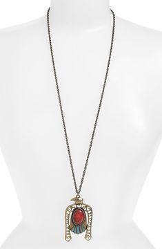 ShopStyle: Nordstrom Devan Vintage Eagle Pendant Necklace